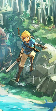 Game art 760756562042516222 - The Legend of Zelda (BotW) The Legend Of Zelda, Legend Of Zelda Breath, Breath Of The Wild, Fire Emblem Awakening, Skyward Sword, Twilight Princess, Game Art, Music Poster, Zelda Drawing