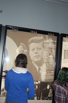 Focusing on one of JFK's public remarks.