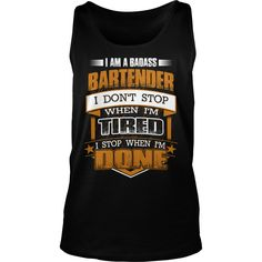 I am a badass BARTENDER - Job T Shirt #gift #ideas #Popular #Everything #Videos #Shop #Animals #pets #Architecture #Art #Cars #motorcycles #Celebrities #DIY #crafts #Design #Education #Entertainment #Food #drink #Gardening #Geek #Hair #beauty #Health #fitness #History #Holidays #events #Home decor #Humor #Illustrations #posters #Kids #parenting #Men #Outdoors #Photography #Products #Quotes #Science #nature #Sports #Tattoos #Technology #Travel #Weddings #Women
