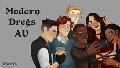 """kayadraws: """"This is one of two drawings I made specifically to give to on her Language of Thorns tour (which was SO COOL). It's the first time I've drawn the whole gang, and you can look. Ya Books, Good Books, Knife Drawing, Crooked Kingdom, The Grisha Trilogy, Leigh Bardugo, My Ghost, Six Of Crows, Book Memes"""