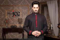 Maazjee Released A Delightful Collection For Men 2015 .Today in this article we are presenting you Maazjee Men's Wear Kameez Shalwar 2015 For Men.