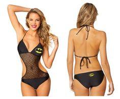 Batman Badeanzug für Frauen