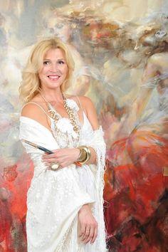 The russian painter Anna Razumovskaya - photo