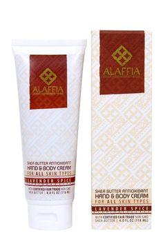 Shea Butter Antioxidant Hand & Body Cream-Lavender Spice