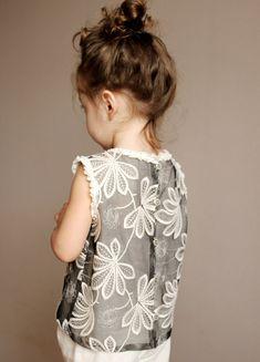 A nice grey blouse...