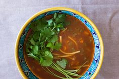 Tomato, chickpea and noodle soup – Recipes – Bite