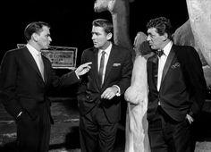 Frank Sinatra, Peter Lawford & Dean Martin