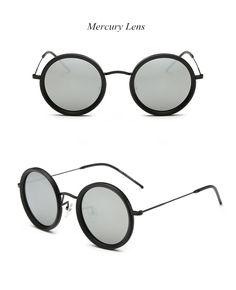 6f9d61b475a Luxury Brand Vintage Round-framed Fashion Polarized Sunglasses Women Sun  glasses Drive Shades UV400 Travel Retro Mirror