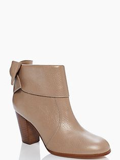 Bow booties   kate spade new york http://rstyle.me/n/szx43n2bn