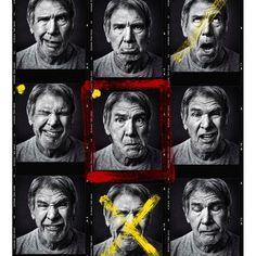 UNSEEN ART: Harrison Ford