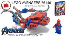 Cobra Snake, Lego Craft, Lego Creator, Diy Toys, Bricks, Marvel Avengers, Spiderman, Alternative, Construction