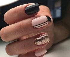 90 Everyday Nail Art Ideas 2019 in our App. Daily ideas of manicure and nail design. Gorgeous nails always! : 90 Everyday Nail Art Ideas 2019 in our App. Daily ideas of manicure and nail design. Gorgeous nails always! Classy Nails, Stylish Nails, Simple Nails, Trendy Nails, Cute Nails, Elegant Nails, Nagellack Design, Short Gel Nails, Nails Design With Rhinestones