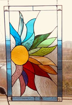 Stained Glass Light, Stained Glass Panels, Stained Glass Projects, Glass Painting Designs, Rock Painting Patterns, Stained Glass Patterns Free, Stained Glass Designs, Canvas Art Projects, Diy Projects