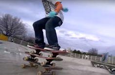 12-year-old kid is the Michael Jordan of skateboarding tricks #rideur