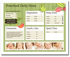 Little Bugs Series preschool theme featured by Preschool Gazette Preschool Daily Report, Daily Activities, Preschool Classroom, Classroom Activities, Classroom Ideas, I School, Back To School, School Stuff, Parent Communication
