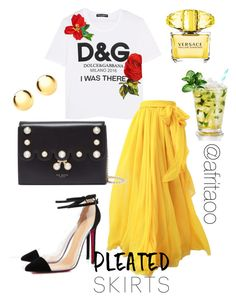 """""""Sin título #335"""" by afritaoo on Polyvore featuring moda, Dolce&Gabbana, Ted Baker, Versace y IBB"""