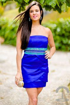 DIY Blue Party Dress Crimenes de la Moda