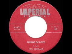 1957 HITS ARCHIVE: *Pledge Of Love* - Ken Copeland - YouTube