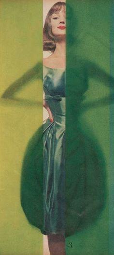 #3- Erwin Blumenfeld (1897-1969), 1958, Vogue US.