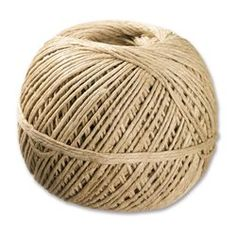 A lovely natural jute hemp twine ball for all types of crafting and display needs. Types Of Craft, Popsicle Sticks, Nature Crafts, Christmas Inspiration, Ark, Twine, Jute, Hemp, Holiday Crafts