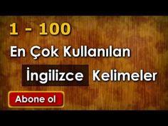 3500 İngilizce Kelime - 1 - YouTube