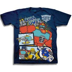 Transformers DARK OF THE MOON OPTIMUS PRIME T-SHIRT  FREE S//H
