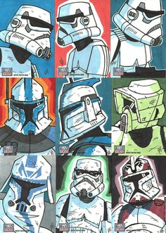 Troops /by *JoeHoganArt #deviantART #StarWars #digital #art