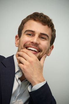 Celebrity & Entertainment | 19 Theo James Moments That Simply Couldn't Be Sexier | POPSUGAR Celebrity