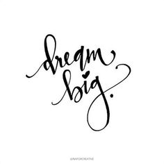 𝔻𝕣𝕖𝕒𝕞 𝕓𝕚𝕘 Never be afraid to chase your dreams and dream big. BUT be aware of the present moment at the sa. Words Quotes, Life Quotes, Sayings, Phrase Insta, Brush Lettering, Hand Lettering, White Background Quotes, Doodle Quotes, Black & White Quotes