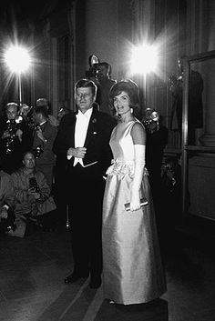 President John F. Kennedy and Jackie, 1963
