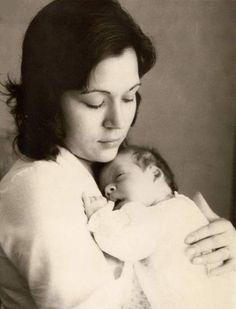 Carmen y mi hijo Daniel - Barcelona 1972