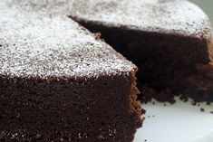 Cocoa Cake ~ *x like baking soda - soapy aftertaste; Fave cocoa is always (Dutch) Van Houten so will use self raising flour & extra baking powder. Might just have some dollops of cream alongside the slices mmm Chocolate Flavors, Chocolate Recipes, Cake Chocolate, Chocolate Dreams, Sweets Cake, Cupcake Cakes, Cupcakes, Yummy Treats, Sweet Treats