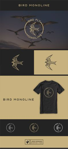 "Check out my @Behance project: ""BIRD MONOLINE"" https://www.behance.net/gallery/60136161/BIRD-MONOLINE"