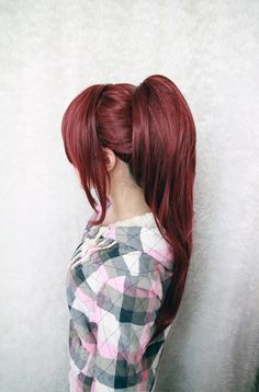 New Fashion Heat Resistant Synthetic Wine Red Free Gou Matsuoka Cosplay Wigs With One Ponytails, View Cosplay Wigs With One Ponytails, Mcoser Product Details from Yiwu Acg Trade Co., Ltd. on Alibaba.com