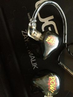 Zayn's inner ears for the TMH tour