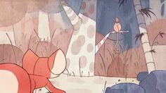 This is my fourth year film at Calarts! It is the story of Beopup, a little fox who goes hunting in the woods and uncovers something rather unpleasant.