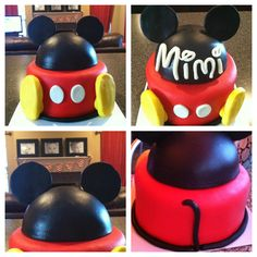 Mickey Mouse cake Mickey ears