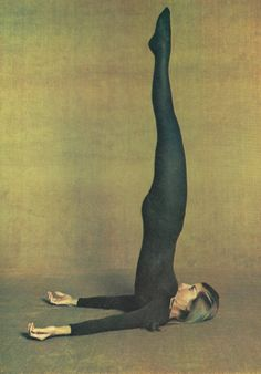 dailycontents: Wake Up to Yoga by Lyn Marshall, 1975 (Source: http://gravelandgold.com)