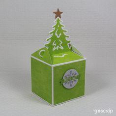 Pudełko na mały upominek // A small gift box