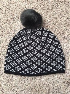 f927f597b15 NWOT Vera Bradley Women s Pom Pom Winter Cozy Knit Hat In Retired Concerto   fashion  clothing  shoes  accessories  womensaccessories  hats (ebay link)