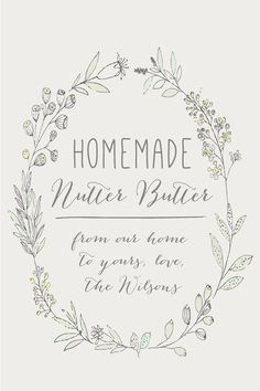 Homemade Favor Labels 2x3 WHITE or KRAFT Shower by BrossieBelle