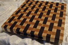 Custom Made Weaved cutting board