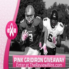 #PinkGridiron Giveaway: Win Cutters Gloves and Shock Doctor Products {RV $75} | Ends 10.25.13 #breastcancerawareness