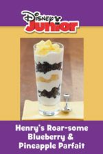 Henry's Roar-some Blueberry & Pineapple Parfait...YUM!