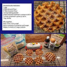 Low Carb Breakfast Recipes – The Keto Diet Recipe Cafe Low Carb Sweets, Low Carb Desserts, Low Carb Recipes, Mexican Desserts, Keto Waffle, Waffle Iron, Comida Keto, Keto Friendly Desserts, Keto Cookies