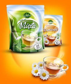 Packaging design for Tea on Behance