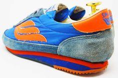 Spalding vintage old school sneakers @ The Deffest