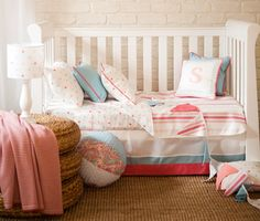 Beautiful & stylish cot bedding from Kate Lauren Designs