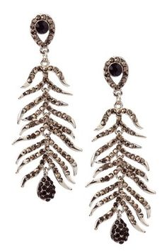 Cascading Feather Earrings