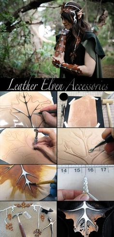 to Be an Elf Bring out your elf alter ego for Halloween!Bring out your elf alter ego for Halloween! Elf Cosplay, Cosplay Armor, Halloween Cosplay, Group Halloween, Anime Cosplay, Halloween Costumes, Larp, Craft Font, Crea Cuir